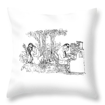 New Yorker May 15th, 1971 Throw Pillow