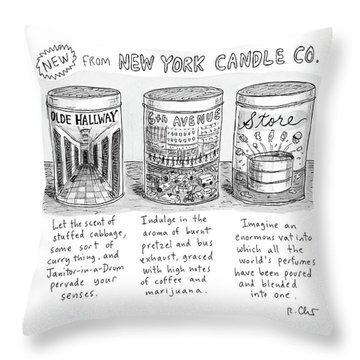 New Yorker May 15th, 2017 Throw Pillow