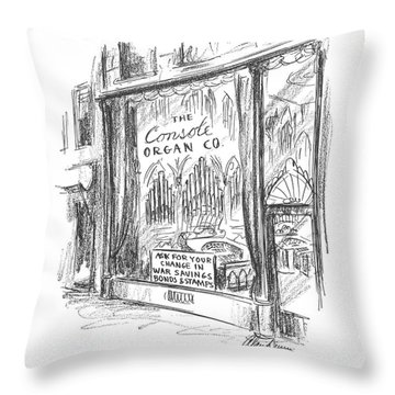 New Yorker May 16th, 1942 Throw Pillow