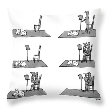 New Yorker May 17th, 1976 Throw Pillow