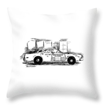 New Yorker May 17th, 1999 Throw Pillow