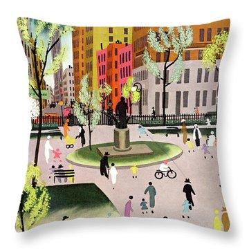 Leisure Throw Pillows