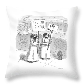 New Yorker May 19th, 1997 Throw Pillow
