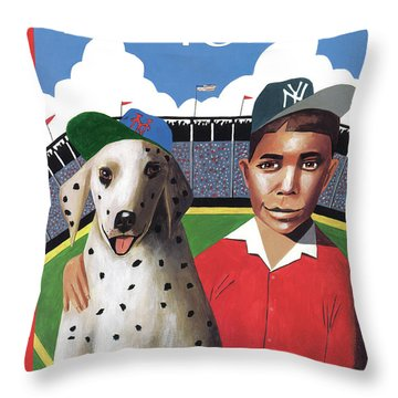 New Yorker May 1st, 1995 Throw Pillow