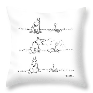 New Yorker May 22nd, 1978 Throw Pillow