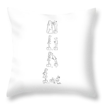 New Yorker May 25th, 1987 Throw Pillow