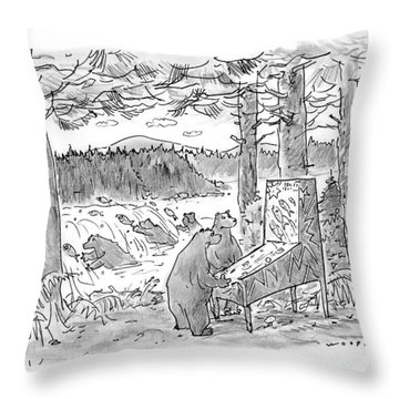 New Yorker May 25th, 1998 Throw Pillow