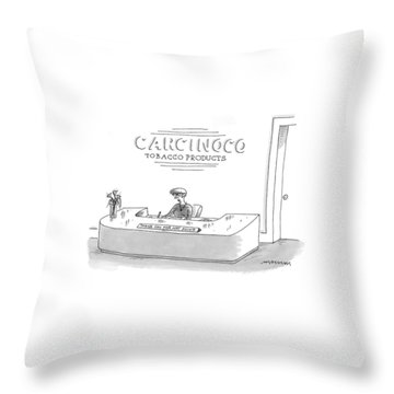 New Yorker May 26th, 1997 Throw Pillow