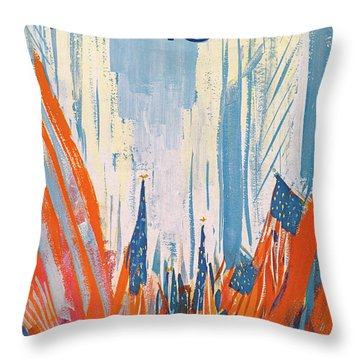 New Yorker May 29th, 1965 Throw Pillow