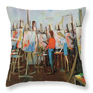 New Yorker May 2nd, 1970 Throw Pillow