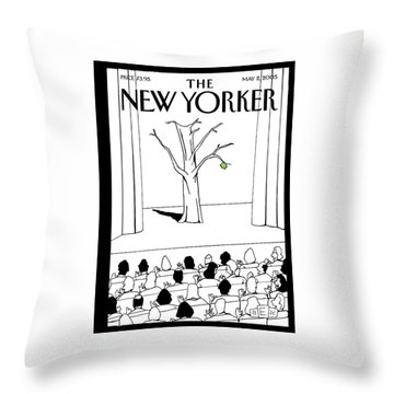 New Yorker May 2nd, 2005 Throw Pillow