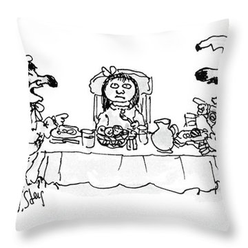 New Yorker May 30th, 1988 Throw Pillow