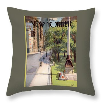 New Yorker May 31st, 1958 Throw Pillow