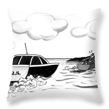 New Yorker May 4th, 1992 Throw Pillow