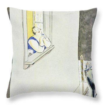 New Yorker May 9 1931 Throw Pillow
