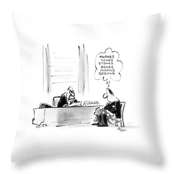 New Yorker November 10th, 1986 Throw Pillow