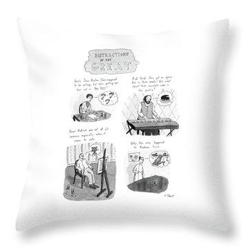 New Yorker November 10th, 1986 Throw Pillow
