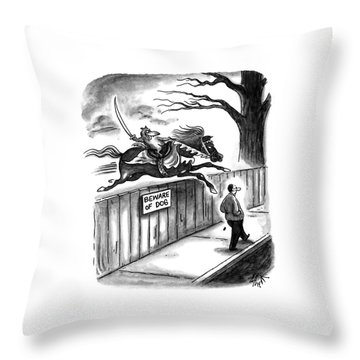 New Yorker November 14th, 1994 Throw Pillow