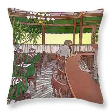 New Yorker November 15th, 1982 Throw Pillow