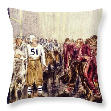 New Yorker November 16 1940 Throw Pillow