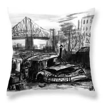 New Yorker November 16th, 1992 Throw Pillow