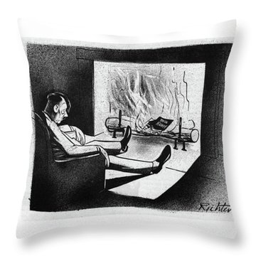 New Yorker November 18th, 1944 Throw Pillow