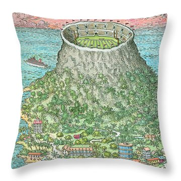 New Yorker November 19th, 1990 Throw Pillow