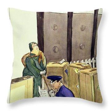 New Yorker November 21 1931 Throw Pillow