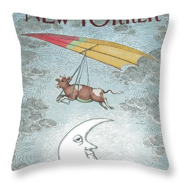 New Yorker November 21st, 1988 Throw Pillow