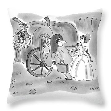 New Yorker November 22nd, 1993 Throw Pillow
