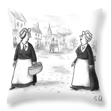 New Yorker November 23rd, 1998 Throw Pillow