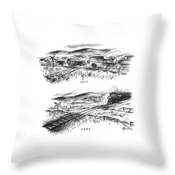 New Yorker November 27th, 1943 Throw Pillow