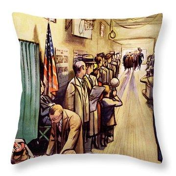 New Yorker November 4th, 1950 Throw Pillow
