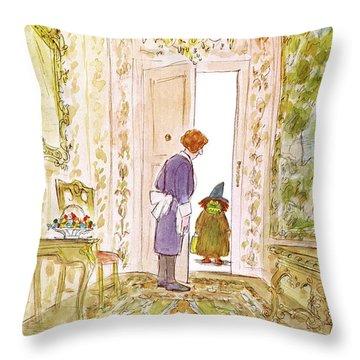 New Yorker November 4th, 1974 Throw Pillow