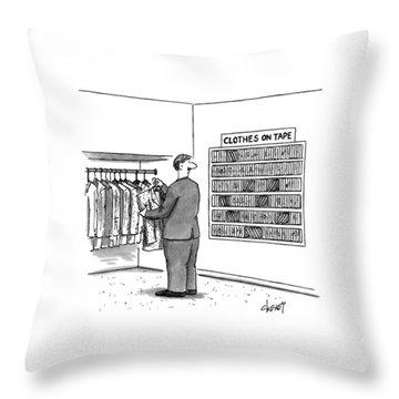 New Yorker November 7th, 1994 Throw Pillow