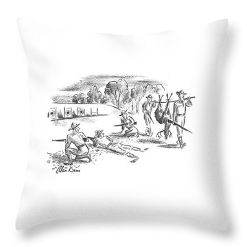 New Yorker November 9th, 1940 Throw Pillow