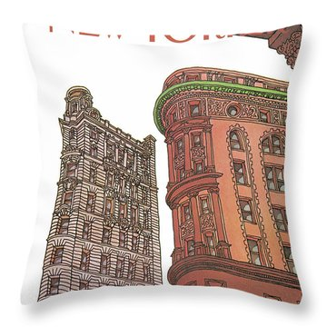 New Yorker November 9th, 1981 Throw Pillow