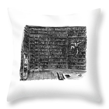 New Yorker October 10th, 1994 Throw Pillow