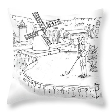 New Yorker October 11th, 1993 Throw Pillow