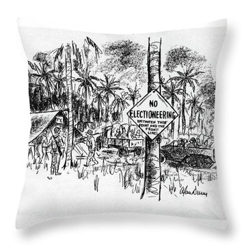 New Yorker October 14th, 1944 Throw Pillow
