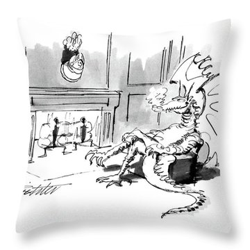 New Yorker October 17th, 1988 Throw Pillow