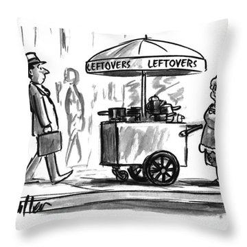 New Yorker October 17th, 1994 Throw Pillow