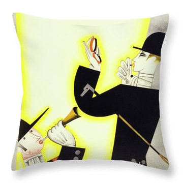 New Yorker October 2 1926 Throw Pillow