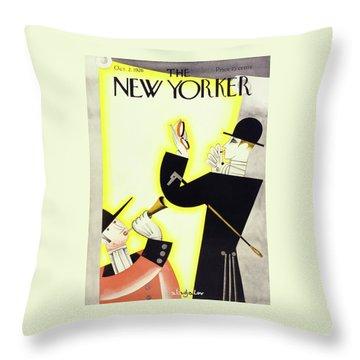 New Yorker October 2 1926 Throw Pillow