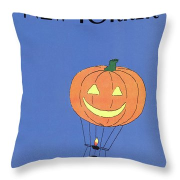 New Yorker October 29th, 1984 Throw Pillow