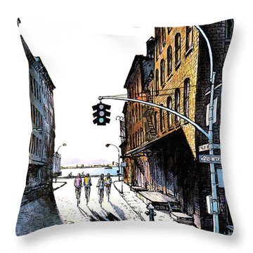 New Yorker October 2nd, 1978 Throw Pillow