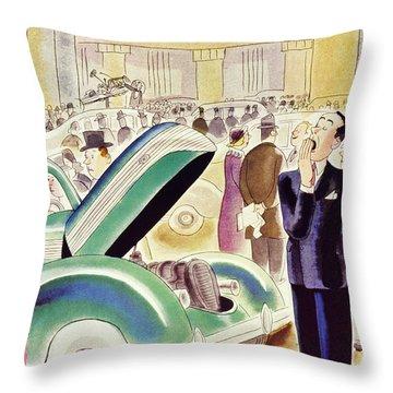 New Yorker October 30 1937 Throw Pillow