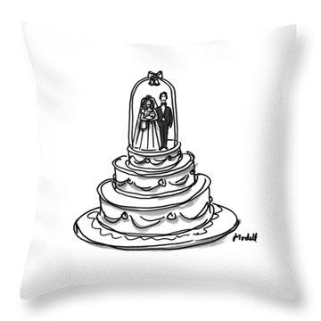 New Yorker October 31st, 1994 Throw Pillow