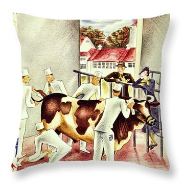 New Yorker October 5 1935 Throw Pillow