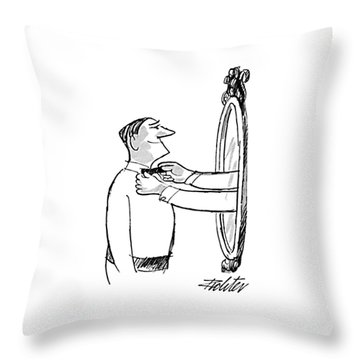 New Yorker October 5th, 1968 Throw Pillow